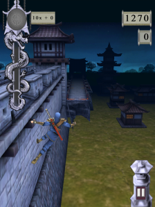 Ninja Revinja adds some cool modifications to the endless runner, like Wall Running and shooting down obstacles in your path.