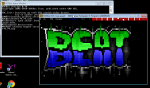 iMac Remotes to PC, PC Runs x68 emulator, which runs AcidDraw. Also had to remap my keyboard!