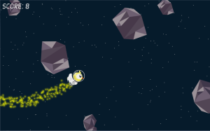 Fun and simple, Comet Bird is a blast that is harder than it looks at the start.