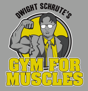dwight_schrute_gym